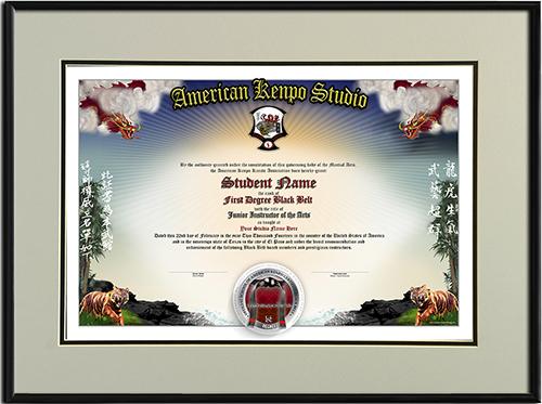 martial arts certificate template - home martial arts certificates