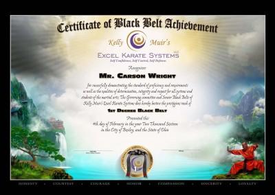 Kelly Muir's Excel Karate – Monk Template