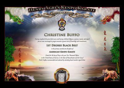 HAKK – Black Belt Certificate