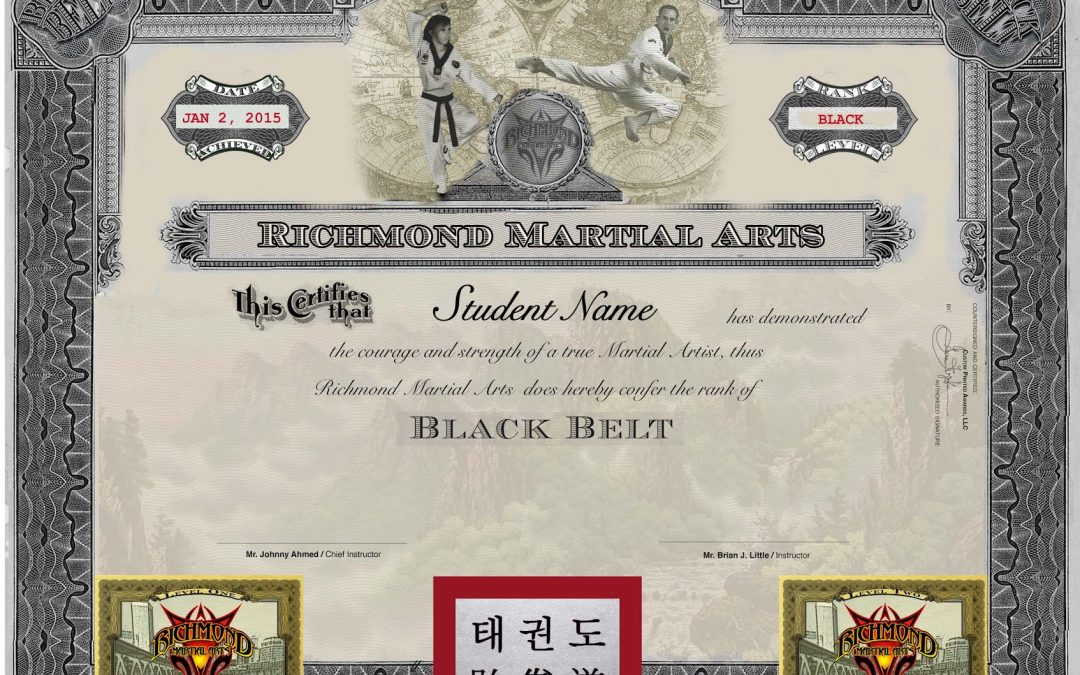 martial arts certificate template - martial art certificates archives page 5 of 7 martial