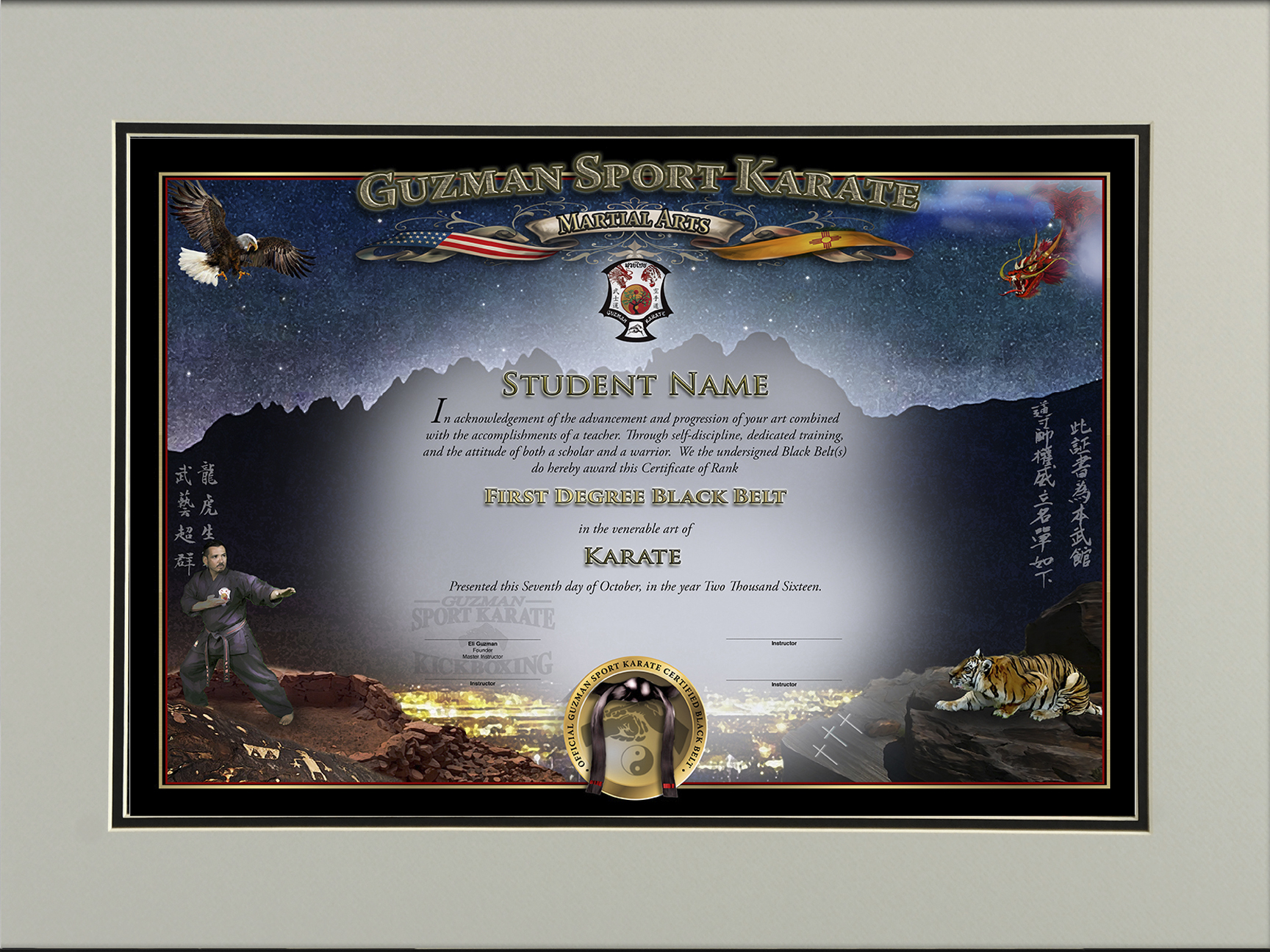 Create Your Certificate - Martial Arts Certificates
