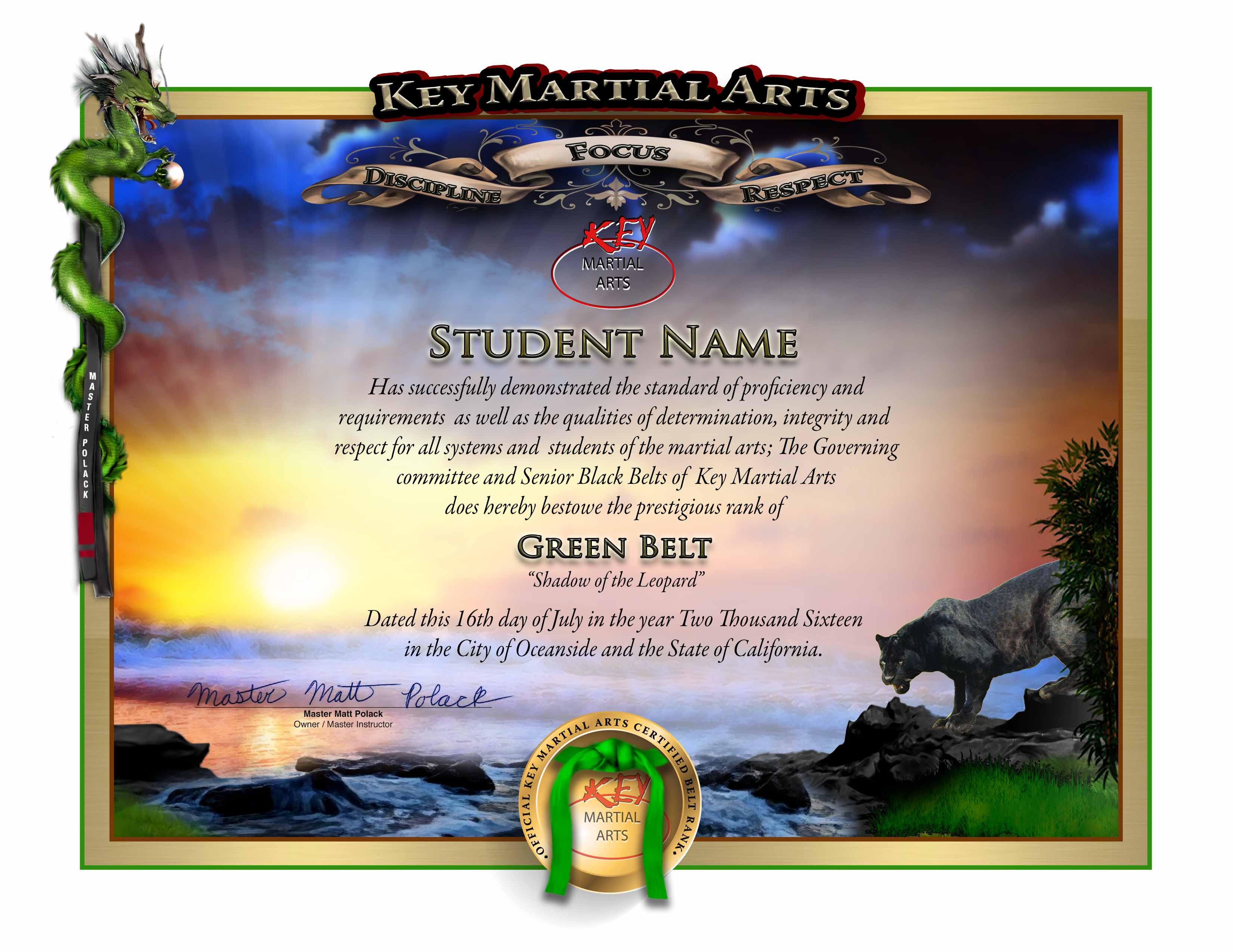 make an impact on your martial arts students with awards  certificates and diplomas