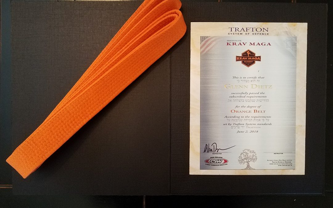 Krav Maga Academy San Diego – Belt Rank Advancement June 2
